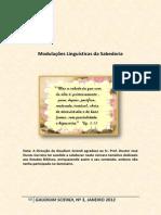 Carreira_ 2012_Modulações Linguísticas Da Sabedoria