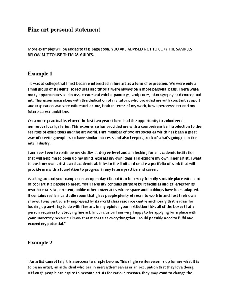 sports science personal statement examples