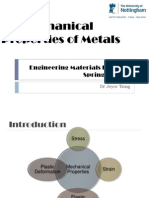 05. Material Properties of Metals (Lectured)