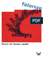 Falange. Historia Del Fascismo Español de Stanley George Payne r1.0