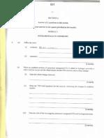 Cape Chemistry Past Paper Booklet Unit One Paper Two