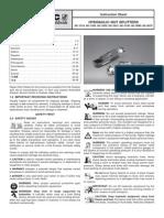 Enerpac NC-Series Manual