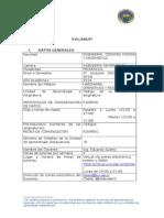 Syllabus Protocolos de Comunicacion de Datos 2015