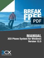 3CX Phone System Manual V12.5