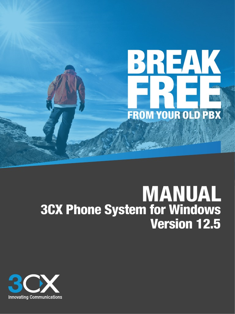 3cx Phone System Manual V125 Remote Desktop Services Voice Over Ip