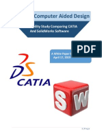SolidWorks vs CATIA