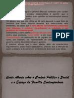 Carta Aberta - Simpósio Uepg 2014
