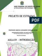 Projeto de estradas - aula 01 - INTRODUÇÃO.pdf