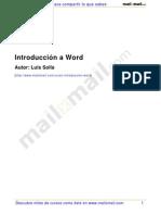 Introduccion a Word
