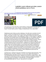 2010 01 21 Caos Amia e Gucciardo Polemizza Con Lo Cicero - Percolato
