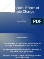 Social Effects of Climate Change