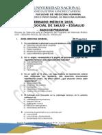 Banco de 100 Preguntas-essalud 2015