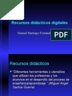 Recursos didácticos digitales