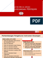 PSAK 50 Instrumen Keuangan Penyajian 15122014