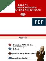 PSAK 55 Instrumen Keuangan Pengukuran 15122014