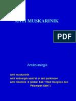Anti Muskarinik