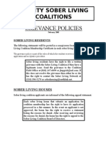 7. Grievance Policies2-05