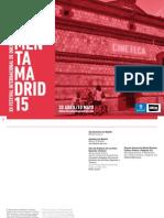 Catalogo DocumentaMadrid15