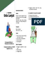 Artritis Lansia Leaflet