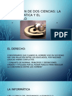 LA UNIÒN DE DOS CIENCIAS, LA INFORMÀTICA Y EL DERECHO. LA INTELIGENCIA ARTIFICIAL