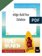 EEdge Build Your Database