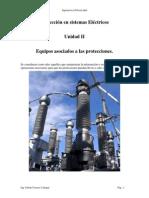 UNIDAD II - Equipos Asociados a Las Protecciones
