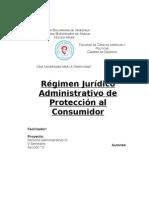 Régimen Jurídico Administrativo de Protección Al Consumidor