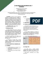 Códigos de Detección de Error Crc y Hamming