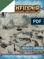 Pathfinder Adventure Path - Reign of Winter - Map Folio