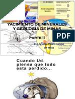 Yacimiento de Minerales y Geologia de Minas Una Punoiia