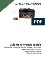 Manual epson tx620fwd
