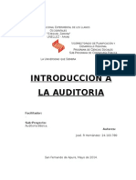 Introducción a la Auditoria