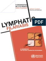 WHO Global Programme to Eliminate Lymphatic Filariasis