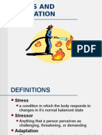 Chapter 32 STRESS- Nursing 101