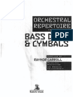 Orchestral Rep - BD and Cym