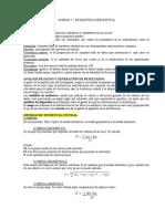 Unidad 5 Estadistica Descriptiva