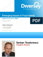 Emerging Issues in Food Safety - Webinar Archive