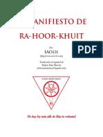 El Manifiesto de Ra-hoor-khuit