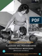 Clásicos del pensamiento pedagógico mexicano
