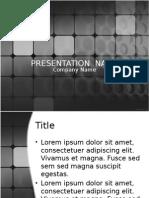 Presentation Name