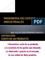 Ingenieria de Costos Industriales