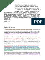 CARLOS - Carta a Mi Agresor