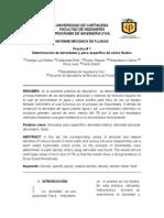 1er. Informe Mecanica. Viscocidad