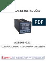 AOB508-G21 Controlador Temperatura Relé (1)