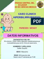 Caso Clinico Hiperbilirrubinemia