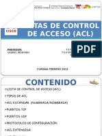 acl packet tracer