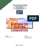 Sistemas de Costos Conjuntos