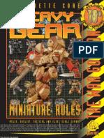 Heavy Gear CoreMiniRules