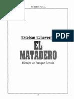 69175680 Esteban Echeverria Por Breccia El Matadero HISTORIETA