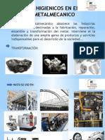Factores Higienicos en El Sector Metalmecanico